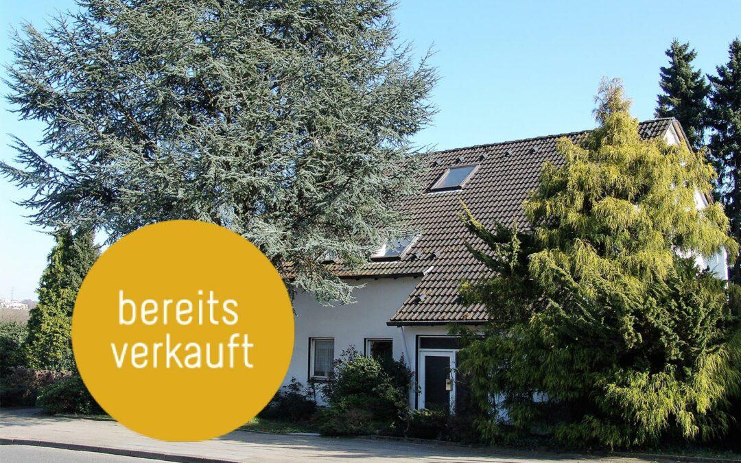 Sanierungsbedürftiges, freistehendes Einfamilienhaus im Maler-Dichter-Viertel