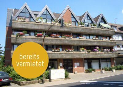 Helle, gut geschnittene 2-Zimmerwohnung mit Balkon im Stadtzentrum von Heiligenhaus