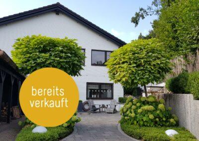 Wunderschönes, helles und sehr ruhig gelegenes, freistehendes Einfamilienhaus mit drei Terrassen