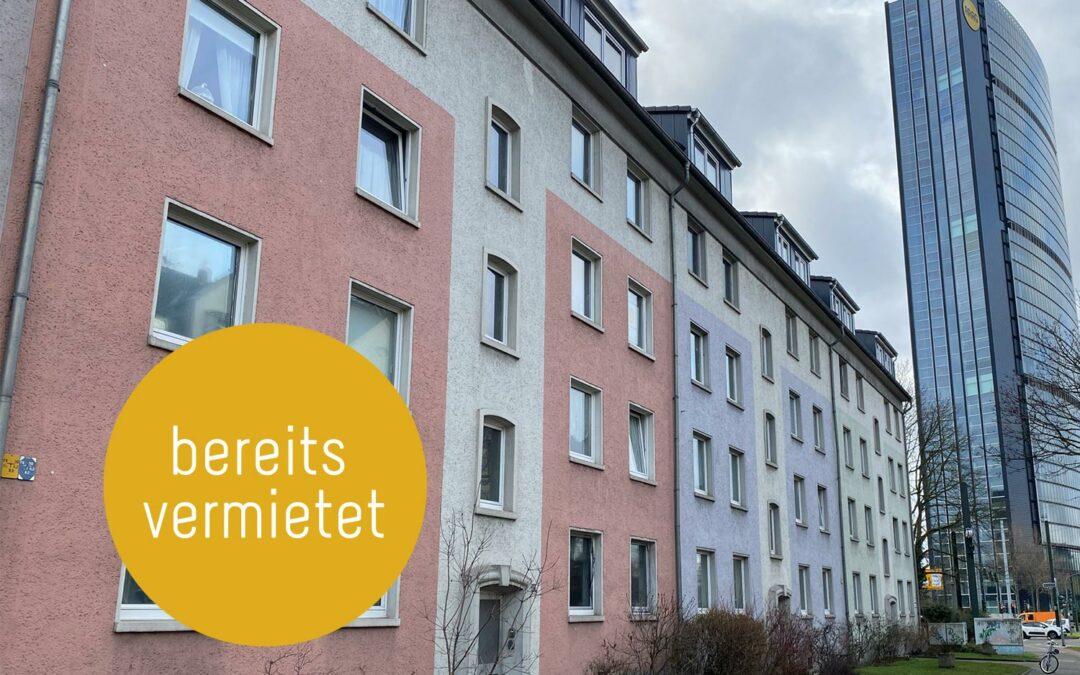 3-Zimmer-Etagenwohnung in Düsseldorf-Mörsenbroich
