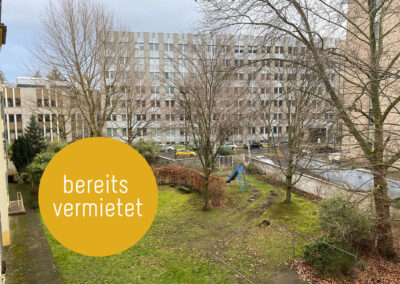 2-Zimmer-Etagenwohnung in Düsseldorf-Mörsenbroich